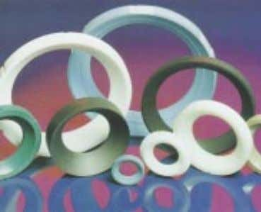 special services like Oxygen and Hydrogen can be supplied. Material Description PTFE The most common seating