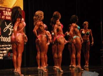 is named the Overall Figure Winner for that particular show. He re's a shot from the