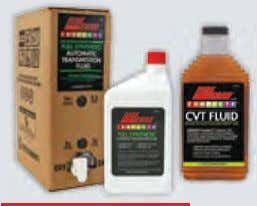 professionals servicing transmissions throughout the world. transmIssIon fluIds For today's ever changing transmission