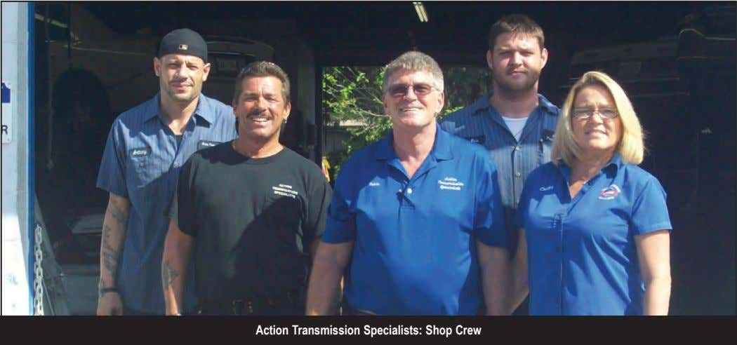 Action Transmission Specialists: Shop Crew