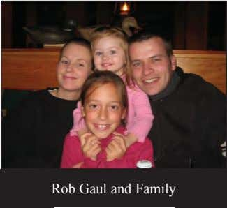 Rob Gaul and Family