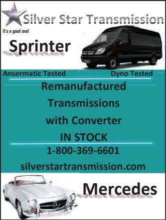 It's a good one! Sprinter Ansermatic Tested Dyno Tested Remanufactured Transmissions with Converter IN STOCK