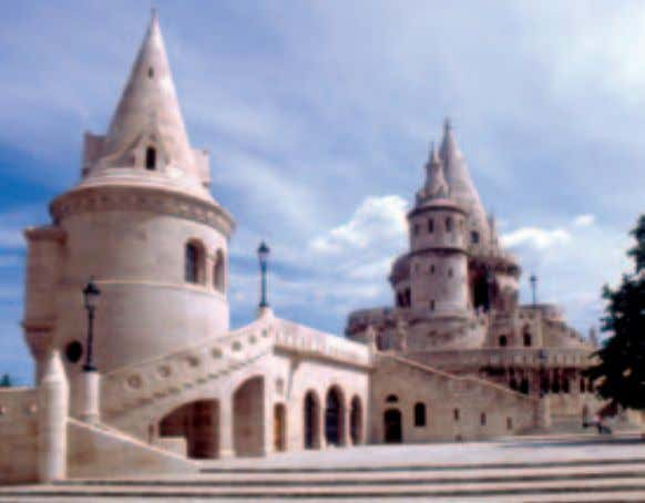 (Holy Trinity) Square. Its Gothic tower and the backdrop of Fishermen's Bastion make this one of