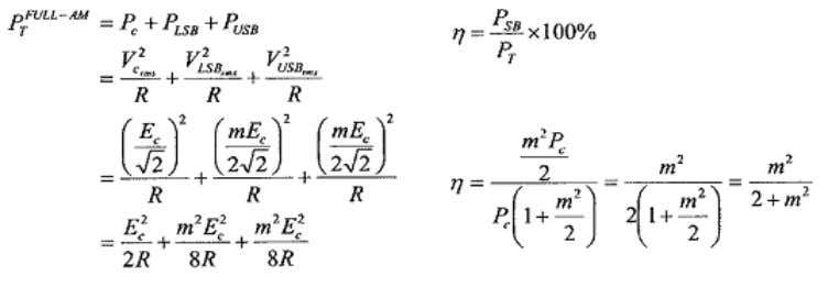 3.3 Modulation Factor, m The change in the carrier amplitude is proportional to the change in