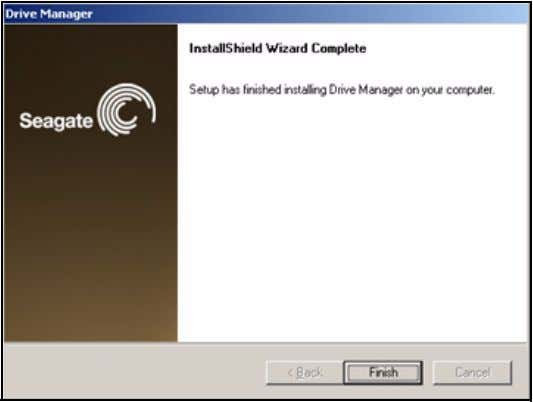 complete, the InstallShield Wizard Complete window opens: Figure 7: InstallShield Wizard Complete Step 8: Click