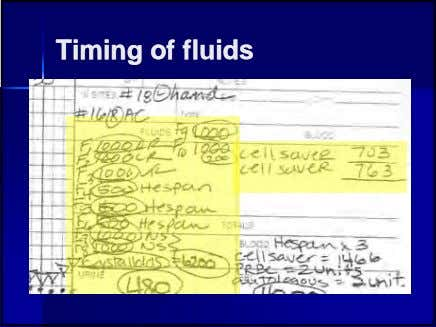 TimingTiming ofof fluidsfluids