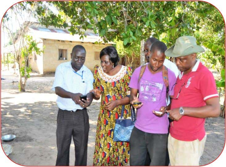 Issue NO: 21 Date: JANUARY, 2017 NBS PICTORIAL NEWS Enumerators (with mobile phones) registering pupils