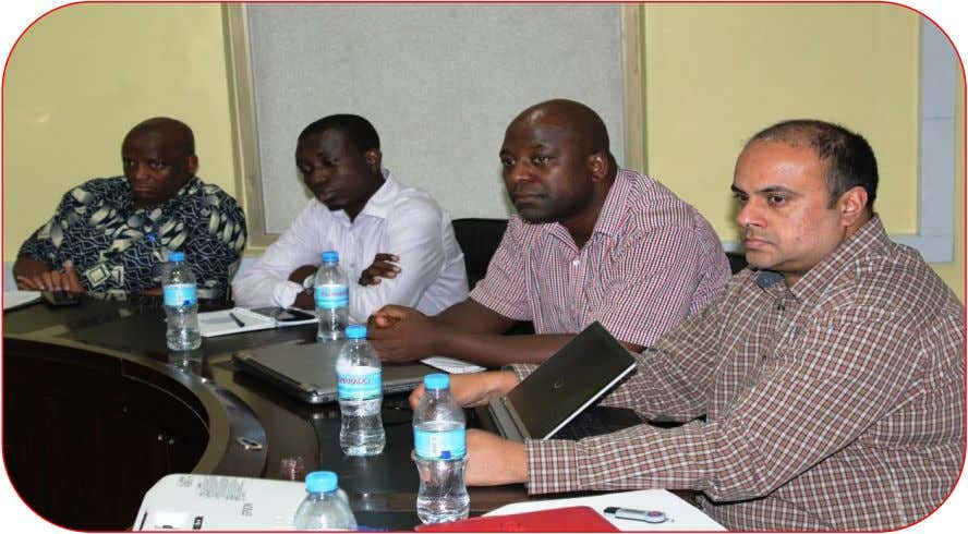 Issue NO: 21 Date: JANUARY, 2017 Some Statistical Stakeholders listening to Ms. Alexandra Silfverstolpe (not