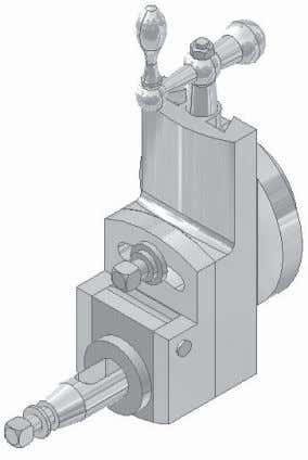 Student Project Create and assemble all the components of the Tool Head of Shaping Machine shown