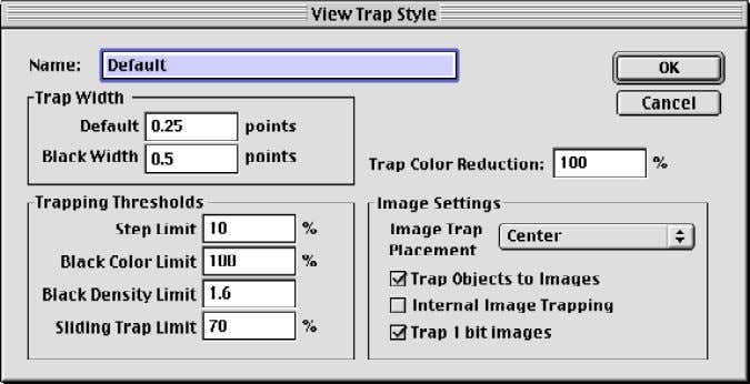 4 Some trapping technologies available on the market today, first convert vectors objects to bitmaps, then