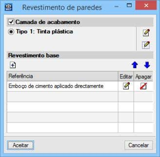 do revestimento de paredes no menu Compartimentos. Fig. 3.9 Fig. 3.10 – Revestimento de paredes do