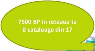 7500 BP in reteaua ta 8 cataloage din 17