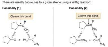 Retrosynthesis of Wittig Reaction