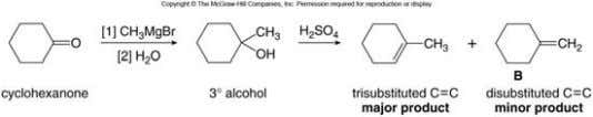 products with the desired compound being the minor product. • Using the Wittig reaction to achieve