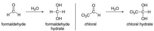 product yields are good only when unhindered aldehydes or aldehydes with nearby electron withdrawing groups are