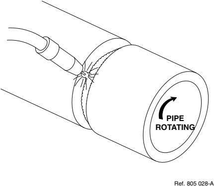 PIPE ROTATING Ref. 805 028-A
