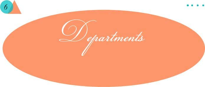 6 Departments