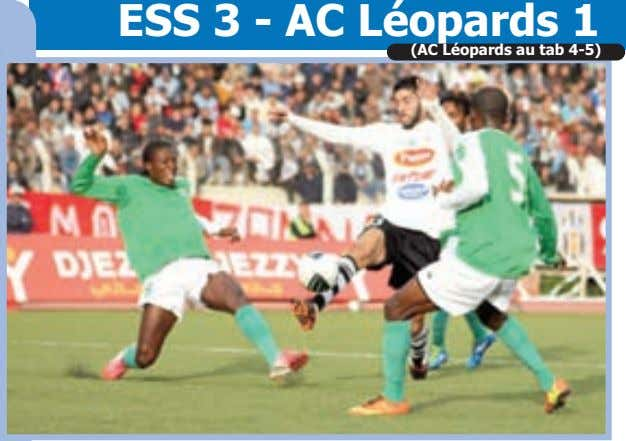 ESS 3 - AC Léopards 1 (AC Léopards au tab 4-5)