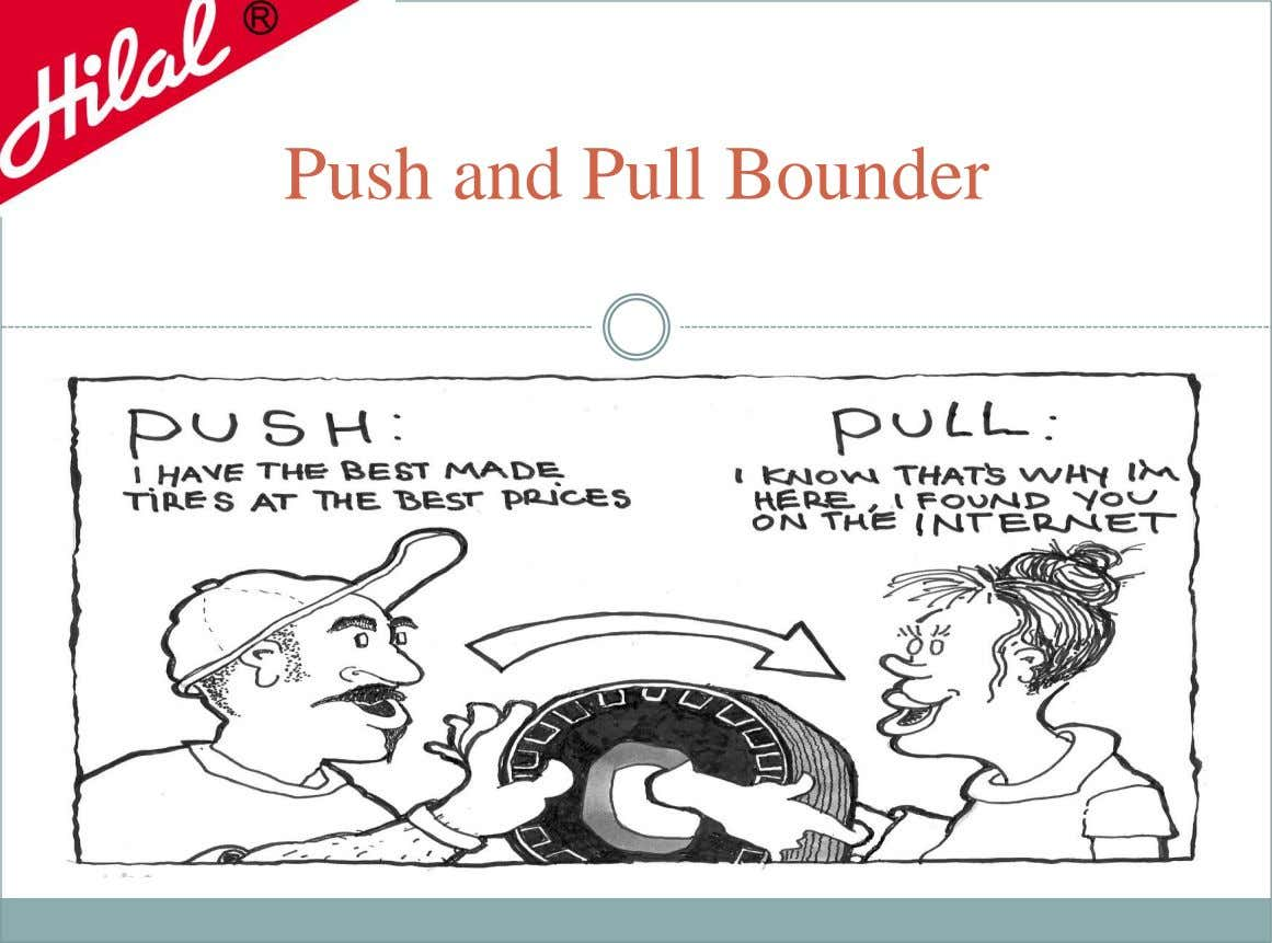 Push and Pull Bounder