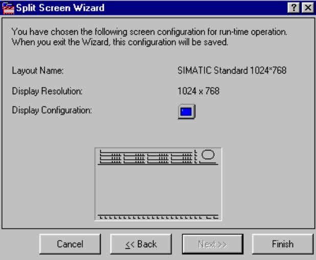"the wizard, trigger the creation of the configuration files. Select the ""Finish"" button to configure the"