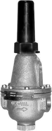 "MODEL CDHS-18 3/8"" Differential Control Adjusting screw turn clockwise to increase setting 3/8 NPT Inlet 3"