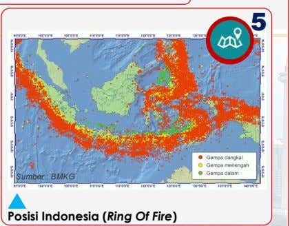 5 Posisi Indonesia (Ring Of Fire)