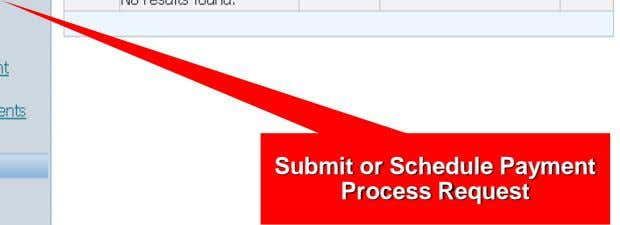 Submit or Schedule Payment Process Request