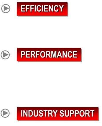 EFFICIENCY PERFORMANCE INDUSTRY SUPPORT