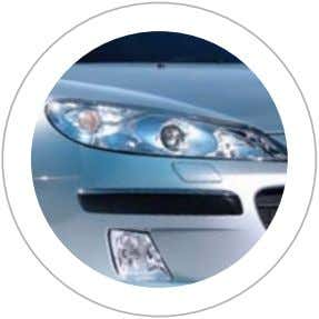 more efficiently, improving your visibility in bad weather. Automatic headlights The 407 has an automatic headlight