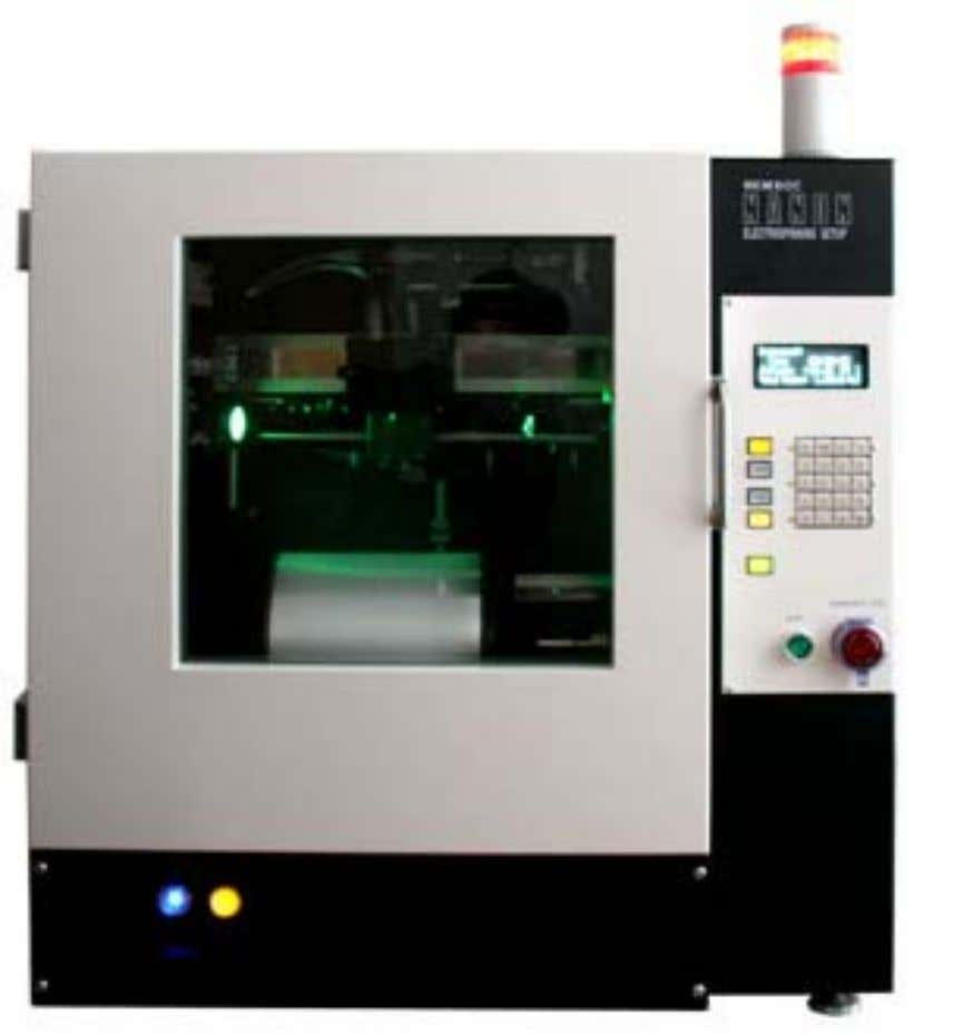 SPINNING EQUIPMENT EQUIPMENT ELECTROSPINNING SET-UP M O D E L : M O D E L