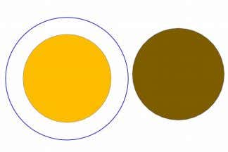 belief system is modeled using the following Venn diagram. The gold area represents truth and knowledge;