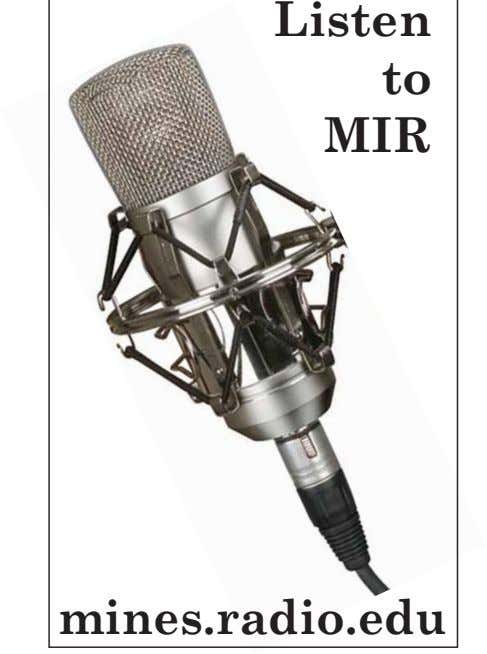 Listen to MIR mines.radio.edu