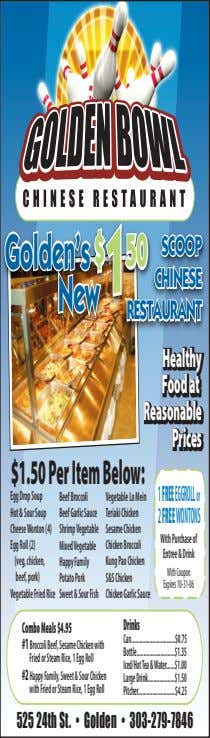 Golden's Golden's $ 50 $ 1 1 50 SCOOP SCOOP CHINESE CHINESE New New RESTAURANT