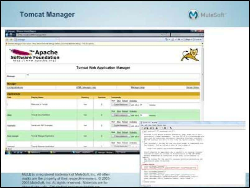 "In order to access the Manager web application, a user with a ""manager"" role must"
