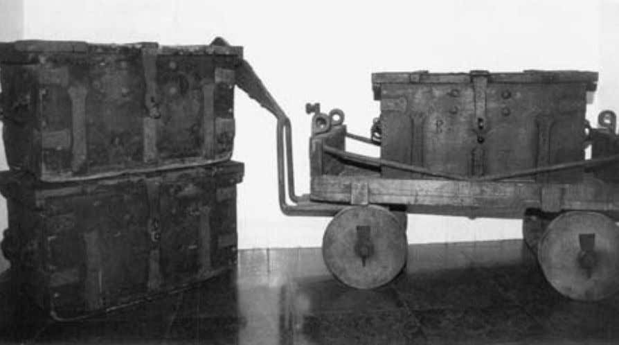 iconic image of coffer and cart, symbolizing the money ac- 3.1. Money Cart of the Amsterdam