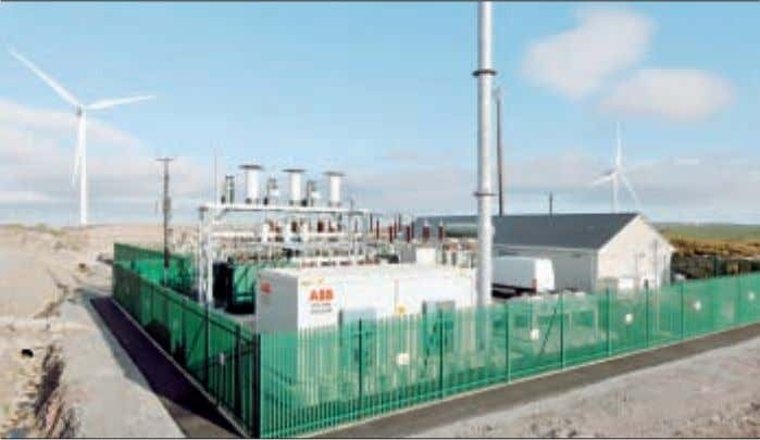 wind park by creating a voltage drop across the transformer. low voltages and is limited only
