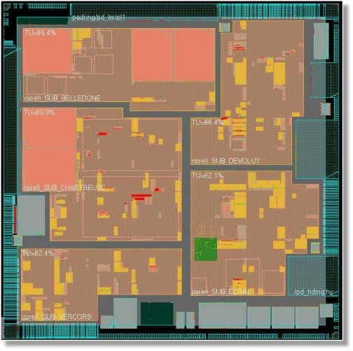 Today's Designs Are Big & Hierarchical Source: L. Besson, STMicroelectronics © Synopsys 2012 52 Timing Signoff