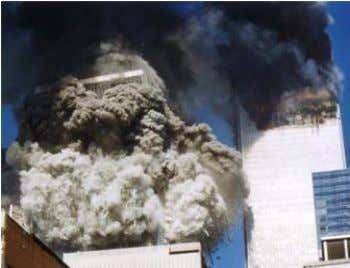 collapse of Alfred P. Murrah Federal Building [3]. Fig. (3). The progressive collapse of WTC towers