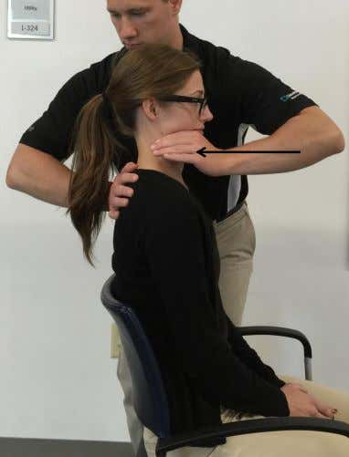 Retraction – Force Progressions Patient Position: Seated comfortable, upright posture Therapist Position: Standing