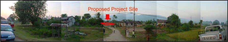 Proposed Project Site