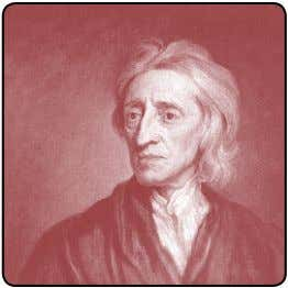 O empirismo de Locke, Berkeley e Hume ◆ 79 John Locke (1632–1704) George Berkeley (1685–1753) David