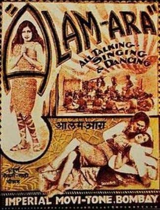 Indian Cinema Alam Ara poster, 1931 Number of screens • Per capita 1 0 , 0