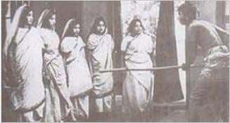 A scene from Dena Paona, 1931 – first Bengali talkie