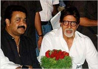Mohanlal and Amitabh Bachchan