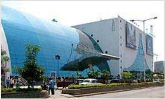 Prasads IMAX Theatre located at Hyderabad, is the world's largest 3D-IMAX screen, and also the