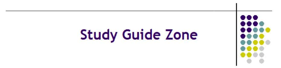GED Test Study Guide Copyright © StudyGuideZone.com. All rights reserved 1