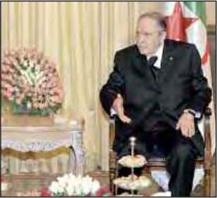 WORLD CUP 2014 President Bouteflika Congratulates Desert Foxes President of the Republic Abdelaziz Bouteflika sent Tues-