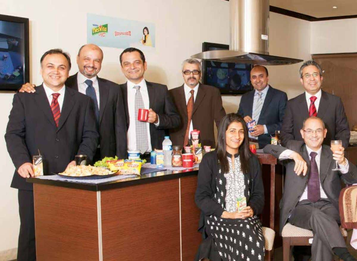 Management Committee From Left to Right (Standing) Faisal Akhtar Rana Business Manager, Coffee, MIlk Modifiers &