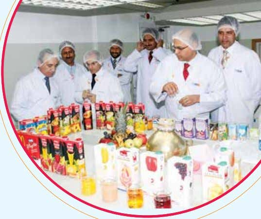 was implemented, to help factories Nestlé Pakistan Limited drive and monitor progress towards Manufacturing Excellence.