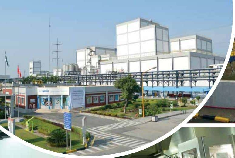 Sheikhupura Factory (SKP) In 2013, Sheikhupura Factory, continued the safe and sustainable journey to achieve